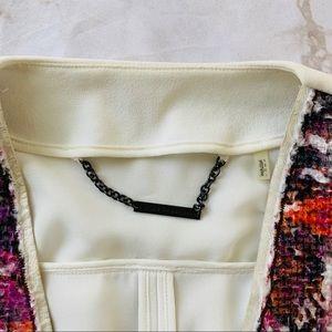 Elie Tahari Jackets & Coats - Elie Tahari Faceted Fushia 'Monique' Jacket